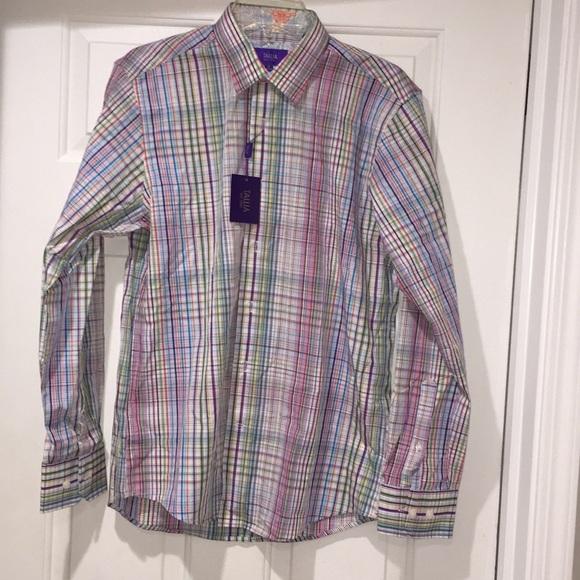 "Tallia Longsleeve Button Down Shirt Size M 15 1 2"" 3a5a85bed"